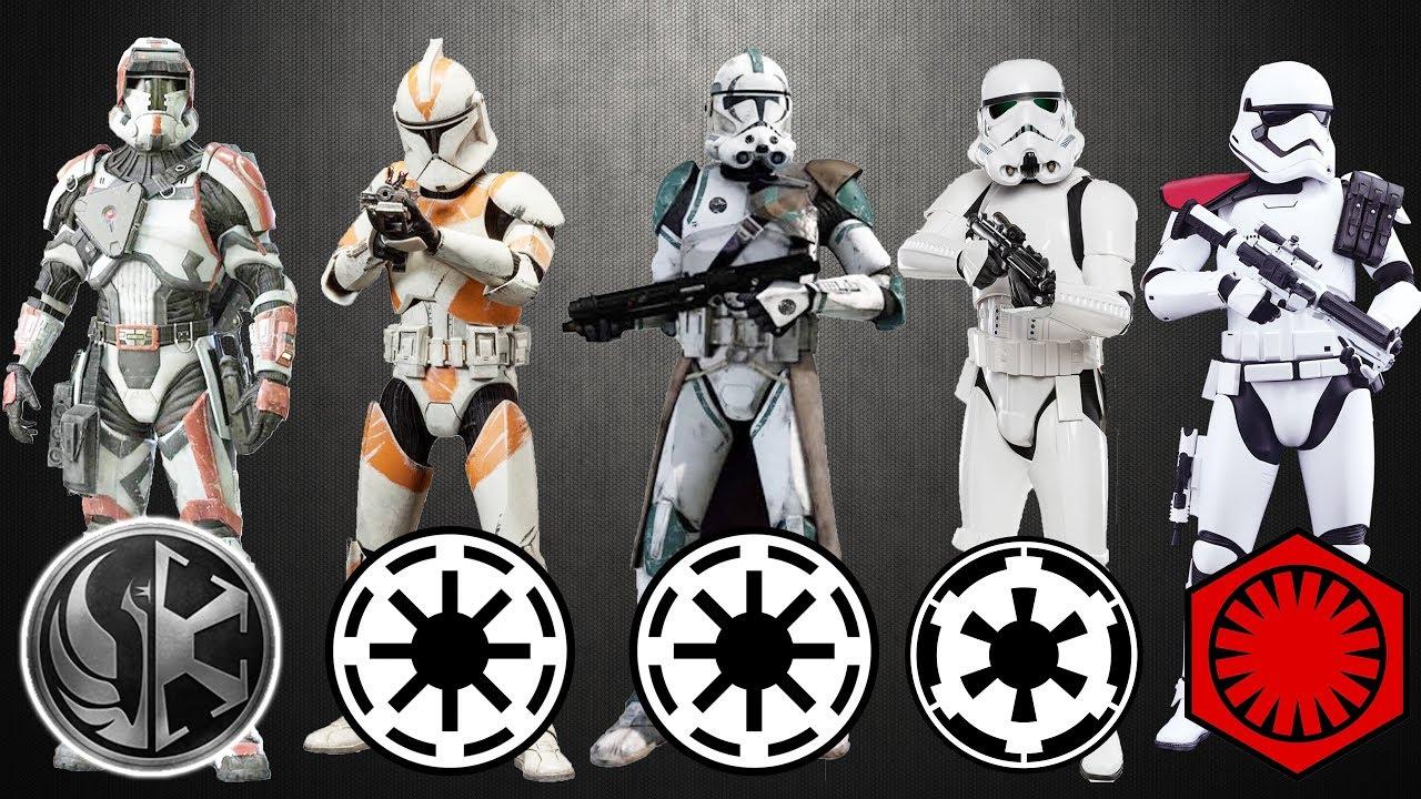 clones vs stormtrooper