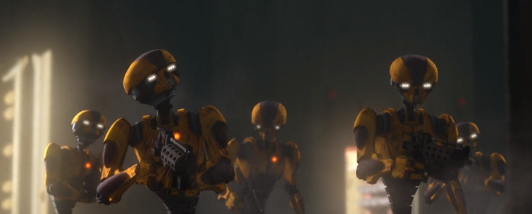 IMPERIAL POLICE DROIDS