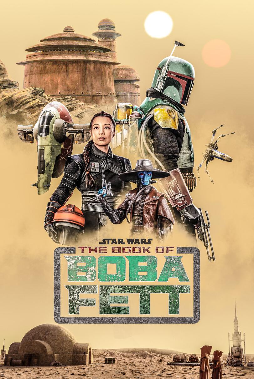 Star Wars: The Book of Boba Fett (постер)